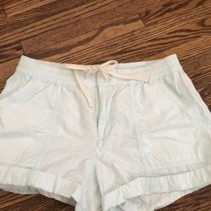 Light blue loft beach shorts